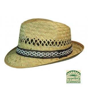 Cappello uomo paglia naturale - Cappelleria Trussardi Clusone Bg 714922b28cca