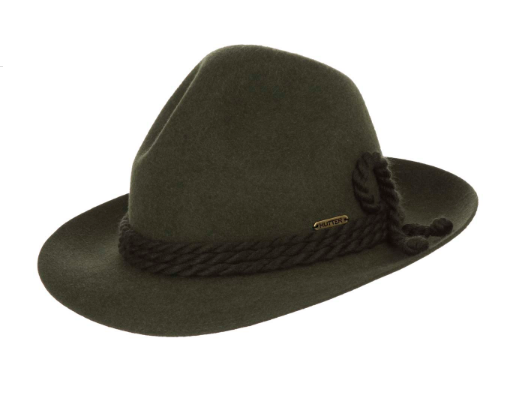 CAPPELLO TIROLESE HAT HUT CHAPEAU FELTRO LANA della HUTTER - Cappelleria  Trussardi Clusone Bg 16926b70643d